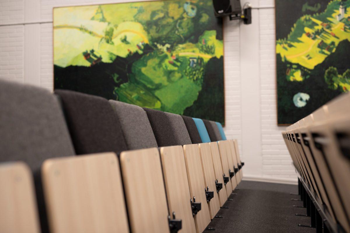 Hörsalsstol Kalle Föreläsningsstol