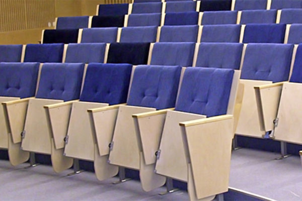Alfing Kongress Konferensstol Publikstol