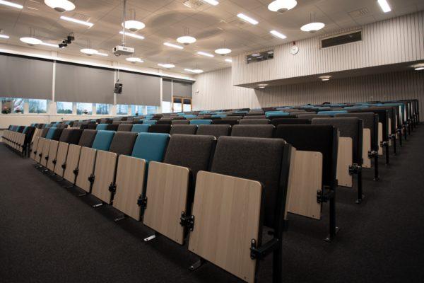 Hörsalsstolen Kalle i Haganässkolan i Älmhult