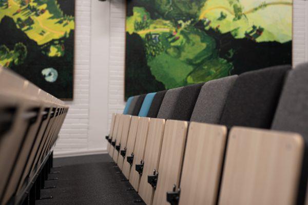 Hörsal- och föreläsningsstolen Kalle
